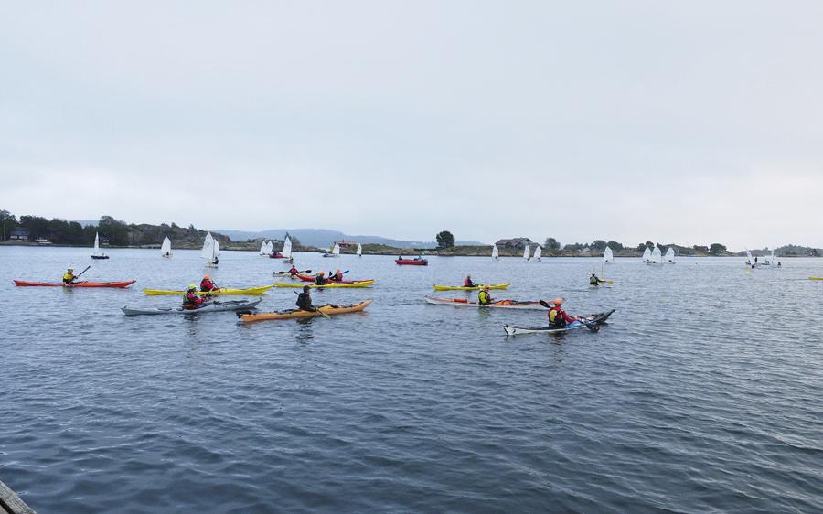 Kajakkpadling mot nye vannscooterregler
