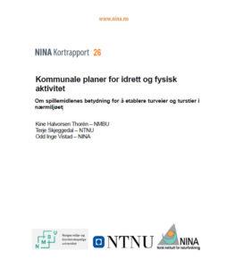 Rapport NINA, NTNU, NMBU