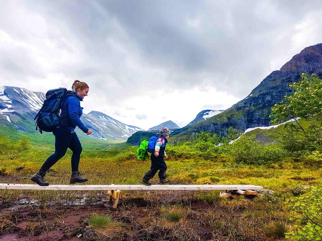 allemannsretten første fjelltur