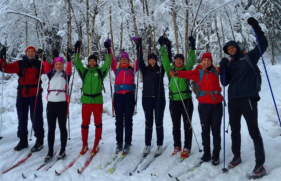 Norsk Friluftsliv gruppebilde