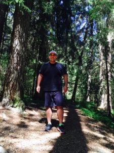 Masud er glad i å gå tur i naturen